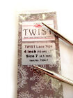 lace knitting - ChiaoGoo Twist 4 Inch (10 cm) Red Lace IC Tips - Knitting Needles MPN 7504