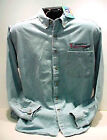 GM LICENSED PONTIAC RACING LONG SLEEVE DENIM SHIRT
