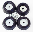 Rubber Amp - Cab Feet, Large Tapered w/ Steel Insert Washer/Screw Rubber Bumpers