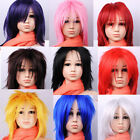 Hot Sell! Cosplay short 8 Colors Women's/ Girl Full Wig free shipping