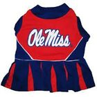 NCAA Ole Miss rebels Mississippi Dog Pet Cheerleader Dress (sizes)