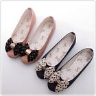 BN Womens Comfy Casual Walking Ballet Flats Ballerinas Shoes Loafers Pink Blue