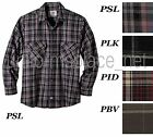 Dickies Flannel Long Sleeve shirts Mid weight  Work Shirt Cotton WL140 Plaid