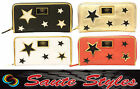 Ladies Authentic LYDC Designer Star Zip Purse Women Clutch Wallet Bag Gift Boxed