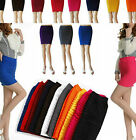 Brand NWT MINI SKIRT Slim Fit Seamless Stretch Tight Fitted Candy 3 Colors SEXY