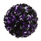 "00027BA One (1) Cheerleading Pom Poms, 6"" 2-Color Mix Metallic"