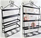 Fashion Metal Earring Jewelry Holder Organizer Rack Stand Display Shelves JS001