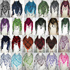 ALL COLOUR KEFFIYEH CHECKED ARAB SHEMAGH NEW ARAFAT NECK WRAP SCARF PASHMINA