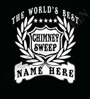 Chimney Sweep T-Shirt Personalised Add Name Great Gift Bespoke Coal Man Sweeper