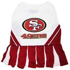 San Francisco 49ers NFL pet dog cheerleader dress (all sizes)
