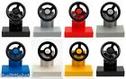 ♥ LEGO ♥ Vehicle, Car Steering Stand with Black Wheel, Available Colours Listed