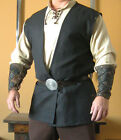Medieval Celtic Viking Sleeveless Coat Vest Jacket