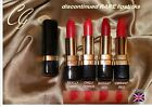 Covergirl Continuous colour LIPSTICK shades of RED really chilli radiant vibrant