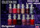 COLLECTION 2000 nail polish varnish MAXIFLEX 5 day pink red purple vamp peach