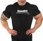 BLACK STEROID BODYBUILDING T-SHIRT WORKOUT  GYM CLOTHING J-99