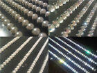 Self Adhesive DIAMANTE Rhinestone Stick on GEM Strips