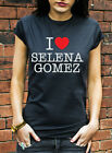 I Love Selena Gomez Tshirt Heart When The Sun Goes Down J0231