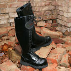 30 hole eye Ranger Boots Leather Army Combat Rangers Cap Steel Toe Leatherboots