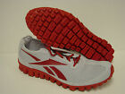 NEW Mens REEBOK RealFlex Run J83188 Real Flex Steel Grey Red Sneakers Shoes
