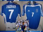 Greece Greek Adidas BNWT ZAGORAKIS Shirt Jersey Football Soccer Adult M L XL Top