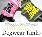 Beauty for Ashes Bark for Jesus Camoflauge Army Tank Shirt Dog Puppy *IMPERFECT*