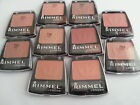 RIMMEL POWDER BLUSH COMPACT BLUSHER WITH BRUSH - VARIOUS COLOURS / SHADES