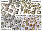500 x Pyramid, Punk, Rock, Leather Bag Shoe Studs CRAFT Biker Fashion Goth