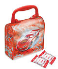 Disney Cars Embossed Childrens Kids Boys Party Bag Loot TIN With Plastic Handle