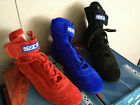 NIB Sparco Top 2 Suede / Leather Driving Shoes Red Sizes 42 / 43 / 45 Nomex