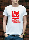 Mai 68 T-Shirt Atelier Populaire Paris 1968 start of long protest Tshirt L316