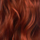 """Clip in Hair Extensions STRAIGHT Copper #350 FULL HEAD 15"""" 18"""" 20"""" 22"""" 24"""""""