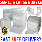 SMALL AND LARGE BUBBLE WRAP 300mm 500mm 600mm 750mm 1000mm 1500mm x 10m 50m 100m