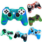 Camo Style Colorful Silicone Protective Case Cover for Sony PS2 PS3 Controller