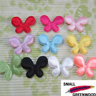 "(U Pick) Wholesale 50-500 Pcs. 1-3/4"" Padded Satin Butterfly Appliques B0930A"