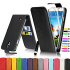 Flip Leather Pouch Case Cover For Samsung Galaxy S4 IV i9500 + Screen Protector