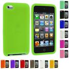 For iPod Touch 4th Generation 4G 4 Color Silicone Rubber Gel Skin Case Cover