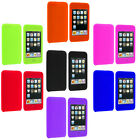 For iPod Touch 3rd 2nd Gen 3G 2G Color Silicone Rubber Gel Soft Skin Case Cover