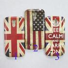 Wholesale USA UK Flag Design Skin Case Cover For Samsung Galaxy S4 Mini i9190