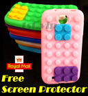 New LEGO Brick Block Style Silicone Soft Back Case Cover for Samsung GALAXY S4