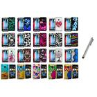 Design Hard Rubberized Snap-On Cover Case+Metal Pen for HTC One M7 Accessory