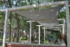 NEW 11.5'x11.5' SQUARE RECTANGLE SUN SAIL SHADE GREEN CANOPY TOP COVER