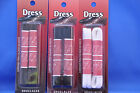 Flat Dress Shoe Laces- 2 PAIRS- 3 Colors 24-45 Inches- NEW