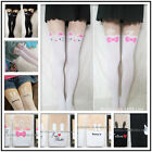 Lady Cute Cat Tail Gipsy Mock Knee Hosiery Pantyhose Tattoo Legging Tights A