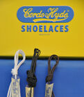 Cordo Hyde Wax Shoe Laces- 4 Colors, 6 Lengths- 1 PAIRS- NEW!