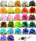 """30 PULL BOWS PER COLOR 5"""" BASKET PARTY BALLOON GIFT DECORATIONS WEDDING PEW CAKE"""