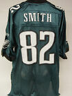 NEW Mens REEBOK LJ SMITH #82 Philadelphia EAGLES Green NFL Football Jersey