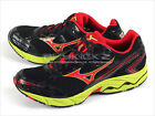 Mizuno Wave Vitality 2 Black/Red/Lime Casual Running Sneakers X10 8KN-280151