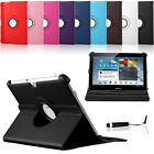 360 Degree Rotating Leather Case for Samsung Galaxy Tab 2 10.1 P5100 P5110 P5113