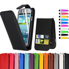 Flip Leather Pouch Case Cover For Samsung Galaxy S3 MINI I8190 + Screen Guard
