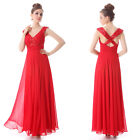 Sexy Ladies Red Sequins Long Formal Evening Dresses Party Prom Gown 09761 06-18